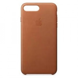 Apple - Coque iPhone 7 / 8 Plus En cuir - En Marron