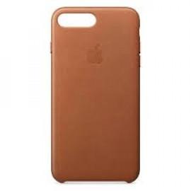 Apple - Coque iPhone 7 / 8 Plus En cuir - En Marron