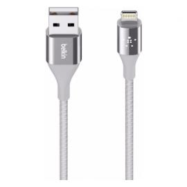 Belkin DuraTek Câble Lightning vers USB Cable 1,2m argent