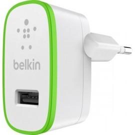 Belkin BOOST UP Adaptateur Secteur - Chargeur maison 2.4A Blanc