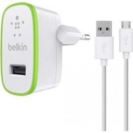 Belkin Chargeur universel secteur 2.4A avec câble Micro USB