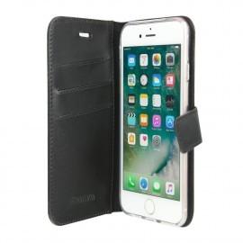 Valenta Booklet Gel Skin iPhone 6 / 6S / 7 / 8 / SE 2020 Noire