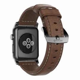 Nomad Traditionnel Bracelet en cuir Apple Watch 42 / 44 mm Marron