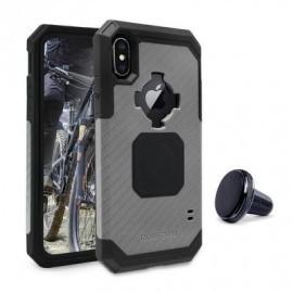 Rokform Rugged - Coque Robuste iPhone X / XS Antichoc - Gris