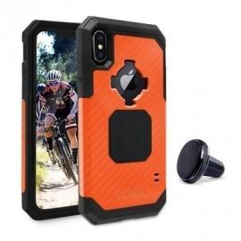 Rokform Rugged - Coque Robuste iPhone X / XS Antichoc - Orange