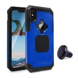 Rokform Rugged - Coque Robuste iPhone X / XS Antichoc - Bleu