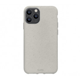 SBS Eco Cover - Coque 100% biodégradable - iPhone 12 / iPhone 12 Pro Max - Blanc