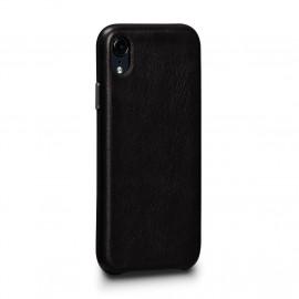 Sena Deen En cuir Snap On - Coque iPhone XR - Noir