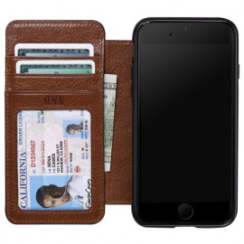 Sena Heritage Wallet case Cognac iPhone 8 / 7 Plus Cognac