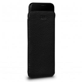 Sena - Pochette iPhone XS Max en cuir Ultrafine - Noir