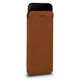 Sena - Pochette iPhone XS Max en cuir Ultrafine - Marron