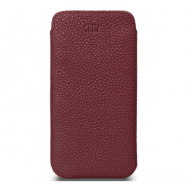 Sena Ultraslim - Pochette iPhone 12 Pro Max En cuir - Bordeau