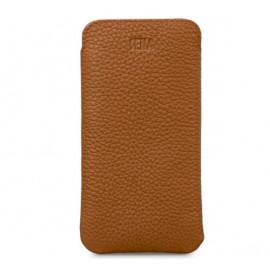Sena Ultraslim - Pochette iPhone 12 / iPhone 12 Pro En cuir - Marron