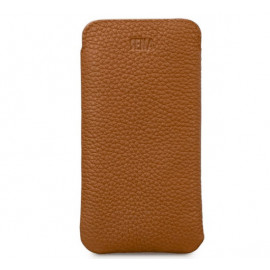 Sena Ultraslim - Pochette iPhone 12 Mini En cuir - Marron