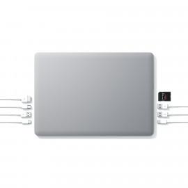 """Linedock 13"""" + 20000mAh + 256GB SSD - Batterie et adaptateur - Gris"""