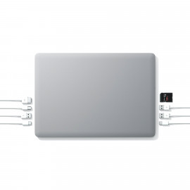 """Linedock 13"""" + 20000mAh - Batterie et adaptateur - Gris"""