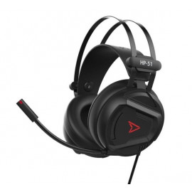 Steelplay Casque Audio Gamer 5.1 Son virtuel HP51 - Noir