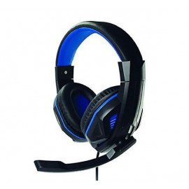 Steelplay - Casque Audio Gamer HP41 - Noir et bleu