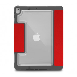 STM Dux - Etui de protection iPad 10.2 - Rouge