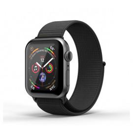 SuperDry nylon band Apple Watch 38 / 40mm zwart
