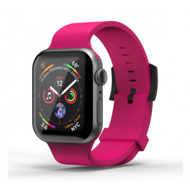 SuperDry siliconen band Apple Watch 42 / 44mm roze