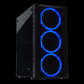 Fourze T155 Micro ATX LED - Boîtier PC Gamer Avec éclairage LED