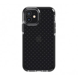 Tech21 Evo Check - Coque iPhone 12 / iPhone 12 Pro - Noir transparant