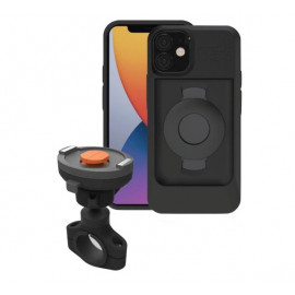 Tigra FitClic Neo - Support iPhone 12 Mini Pour Moto