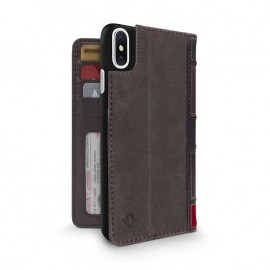 Twelve South BookBook iPhone X / XS bruin