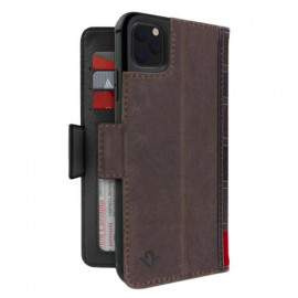 Twelve South Bookbook - iPhone 11 Pro - Coque en cuir Marron