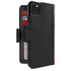 Twelve South Bookbook - iPhone 11 Pro - Coque en cuir Noir