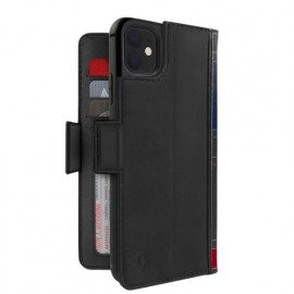 Twelve South Bookbook - iPhone 11 - Coque en cuir Noir