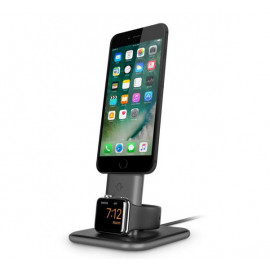 Twelve South HiRise Duet Dual oplaadstandaard iPhone en Apple Watch