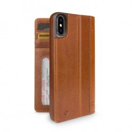 Twelve South Étui Portefeuille iPhone X / XS Marron