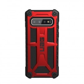 UAG Coque Monarch Samsung Galaxy S10 Rouge et noire