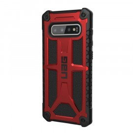 UAG Coque Monarch Carbone Samsung Galaxy S10 Plus Noire