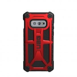 UAG Coque Monarch Samsung Galaxy S10E Rouge et noire