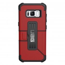 UAG Coque Antichoc Metropolis Samsung Galaxy S8 rouge