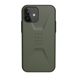 UAG Civilian - Coque iPhone 12 / iPhone 12 Pro Rigide - Olive vert