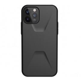 UAG Civilian - Coque iPhone 12 / iPhone 12 Pro Rigide - Noire