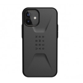 UAG Civilian - Coque iPhone 12 Mini Rigide - Noire
