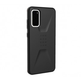 UAG Hard Case Civilian - Coque Samsung Galaxy S20 - Noire