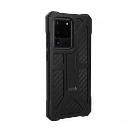 UAG Hard Case Monarch Galaxy S20 Ultra carbon fiber zwart
