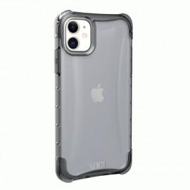 UAG Hard Plyo Coque iPhone 11 Antichoc - Gris Transparent