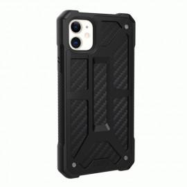 UAG Hardcase Monarch Coque iPhone 11 Antichoc Noir Carbone