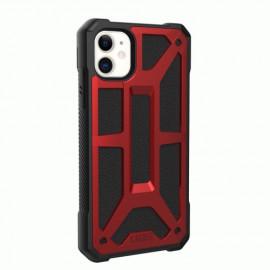 UAG Hardcase Monarch - Coque iPhone 11 Antichoc - Rouge