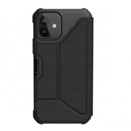 UAG Metropolis Kevlar - Coque iPhone 12 / iPhone 12 Pro Rigide - Noire