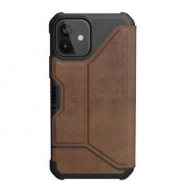 UAG Metropolis Leather - iPhone 12 / iPhone 12 Pro En cuir - Marron