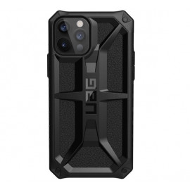 UAG Monarch - Coque iPhone 12 / iPhone 12 Pro Solide - Noire