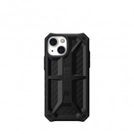 UAG Monarch Hardcase iPhone 13 Mini carbon fibre